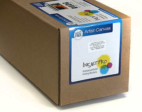 InkjetPro Eco-Solvent Commercial Edition Canvas, Semi-Glossy Poly-Cotton