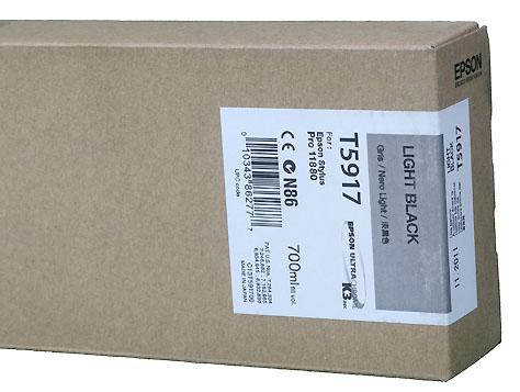 Epson K3 ink cartridge 700ml for Pro11880 LIGHT BLACK   *** These are Genuine Epson inks ***