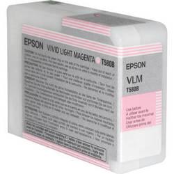 Epson Vivd Light Magenta 80ml ink Cartridge for  Epson 3880 (T580B00)   *** These are Genuine Epson inks ***