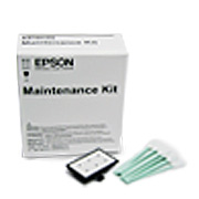 Additional Maintenance Kit includes gloves, cleaning sticks, rail oil & flushing pad for Epson GS6000 ( C12C890611 ).