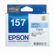 Light Cyan ink cartridge for R3000, Ultrachrome K3 with VM, Epson T1575 (C13T157590)