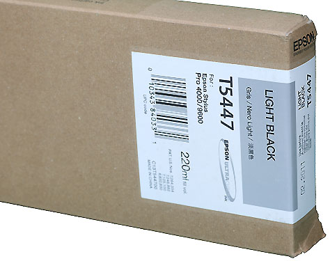 Epson Ink 220ml cartridge LK (Light Black) for 4000/7600/9600 (T544700)