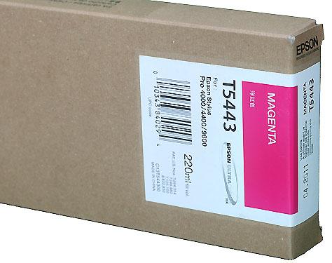 Epson Ink 220ml cartridge M (Magenta) for 4000/7600/9600 (T544300)