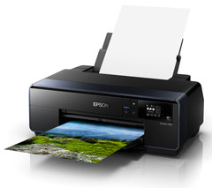 Epson SureColor SC-P600, A3+ Inkjet Printer (C11CE21401) using Epson UltraChrome® HD Ink with Vivid Magenta, Auto switching system for Photo Black and Matte Black