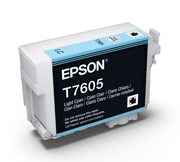 Light Cyan ink cartridge for Epson SURECOLOR SC-P600, UltraChrome HD Ink, Epson C13T760500