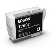 Light Black ink cartridge for Epson SURECOLOR SC-P600, UltraChrome HD Ink, Epson C13T760700