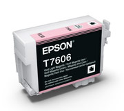 Vivid Light Magenta ink cartridge for Epson SURECOLOR SC-P600, UltraChrome HD Ink, Epson C13T760600