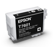 Photo Black ink cartridge for Epson SURECOLOR SC-P600, UltraChrome HD Ink, Epson C13T760100