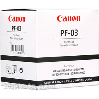Canon Maintenance Tanks & Print Heads