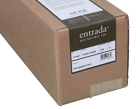 """17"""" x 40' Moab Entrada Natural 290gsm Roll (Single Sided)"""