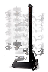 Studio Stand (vertical, large) Heavy Duty Micro Adjustable.