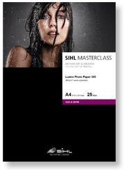 A4 SIHL MASTERCLASS Lustre Photo Paper 300 (4844), 25 Sheets