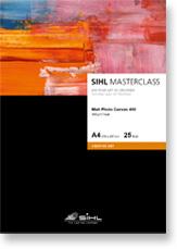 A4 SIHL MASTERCLASS Matt Photo Canvas 400 (4851), 25 Sheets