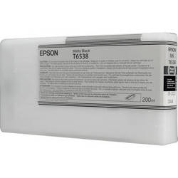 Epson UltraChrome HDR Ink 200ml cartridge MK (Matte Black) for 4900 (T653800)   *** These are Genuine Epson inks ***