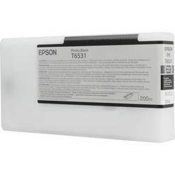 Epson UltraChrome HDR Ink 200ml cartridge PK (Photo Black) for 4900 (T653100)   *** These are Genuine Epson inks ***