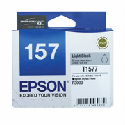 Light Black ink cartridge for R3000, Ultrachrome K3 with VM, Epson T1577 (C13T157790)