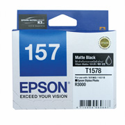 Matt Black ink cartridge for R3000, Ultrachrome K3 with VM, Epson T1578 (C13T157890)