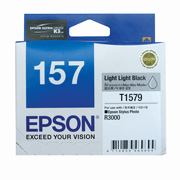Light Light Black ink cartridge for R3000, Ultrachrome K3 with VM, Epson T1579 (C13T157990)