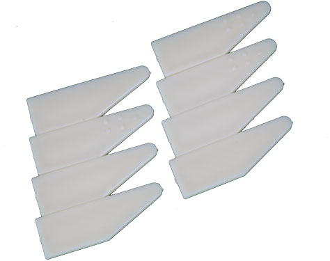 Premade Stretcher bar wedges pack (8)