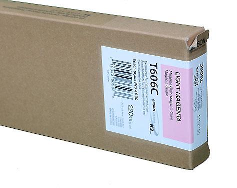 Epson Light Magenta 220ml ink Cartridge for  4800 (T5656)