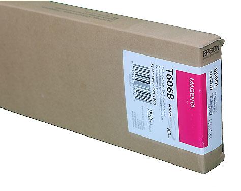 Epson Magenta 220ml ink Cartridge for  4800 (T5653)