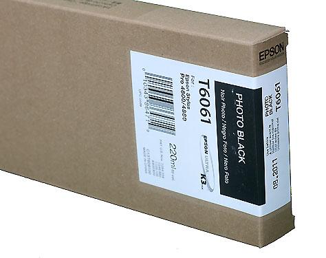 Epson Photo Black 220ml ink Cartridge for 4800/4880 (T5651/T606100)