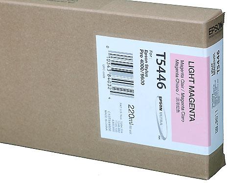 Epson Ink 220ml cartridge LM (Light Magenta) for 4000/7600/9600 (T544600)