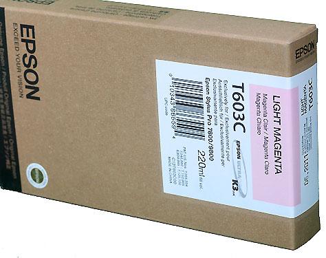 Epson Light Magenta 220ml ink Cartridge for  78/9800 (T5636)