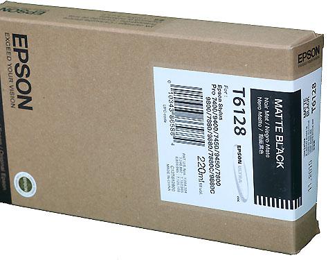 Epson Matt Black 220ml ink Cartridge for  78/9800 (T5678)