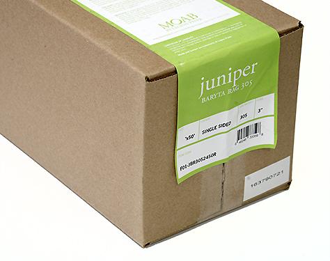 """24"""" x 50' Moab Juniper Baryta Rag 305, 100% Cotton, True Baryta"""