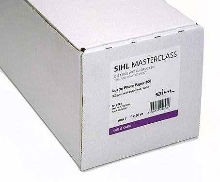 "17"" x 30m SIHL MASTERCLASS Lustre Photo Paper 300 (4844)"