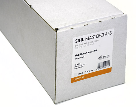 "24"" x 12m SIHL MASTERCLASS Matt Photo Canvas 400 (4851)"