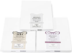 Museo Sample Pack Contains 3 Sheets Each Of Museo Silver Rag, Museo Portfolio Rag, Museo Max And Museo Textured Rag