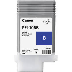 Canon Lucia pigment ink for IPF6300/6350/6400/6450 130ml - Blue ( PFI-106B )