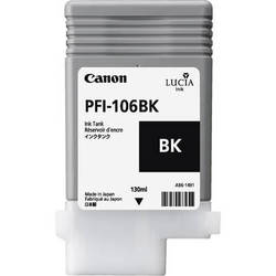 Canon Lucia pigment ink for IPF6300(S)/6350/6400(S)(SE)/6450 130ml - Black ( PFI-106BK )