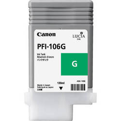Canon Lucia pigment ink for IPF6300/6350/6400/6450 130ml - Green ( PFI-106G )