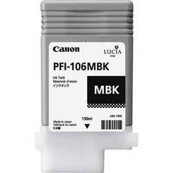 Canon Lucia pigment ink for IPF6300(S)/6350/6400(S)(SE)/6450 130ml - Matt Black ( PFI-106MBK )