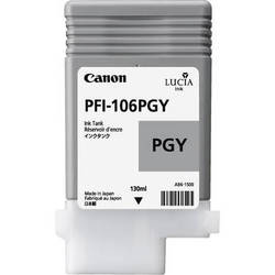 Canon Lucia pigment ink for IPF6300/6350/6400/6450 130ml - Photo Gray ( PFI-106PGY )