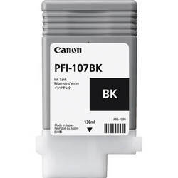 Canon Inkjet Cartridge for iPF 670/680/685/770/780/785 130ml - Black (PFI-107BK)
