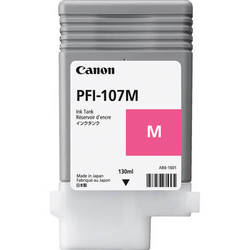Canon Inkjet Cartridge for iPF 670/680/685/770/780/785 130ml - Magenta (PFI-107M)