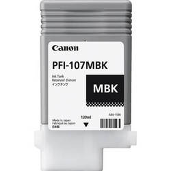 Canon Inkjet Cartridge for iPF 670/680/685/770/780/785 130ml - Matt Black (PFI-107MBK)