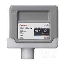 Canon Lucia pigment ink for IPF8100/9100 330ml - Matt Black (PFI-302MBK)