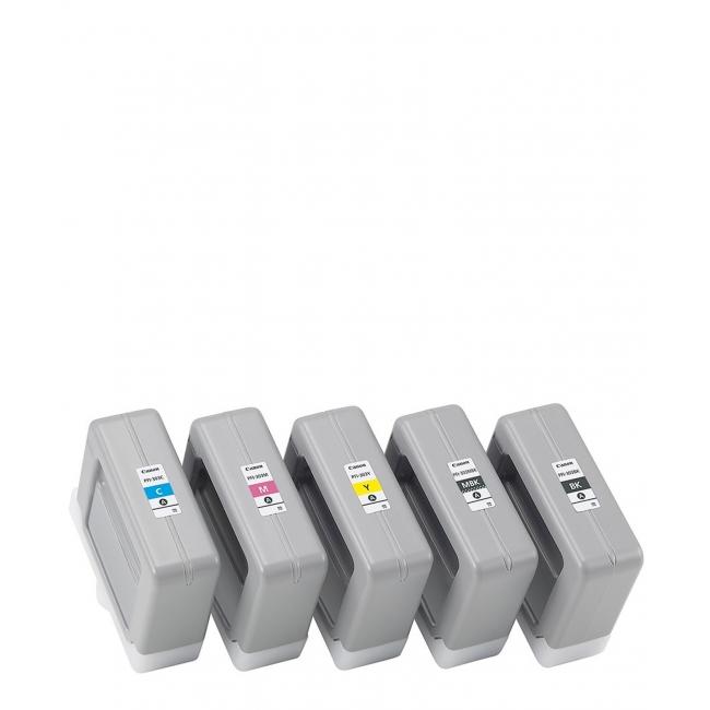 Canon Inkjet Cartridge for iPF 810/820/815 330ml - Full Set (PFI-303BK, PFI-303C, PFI-303M, PFI-303Y, PFI-303MBK)