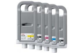 Canon Inkjet Cartridge for iPF 810/820/815 700ml - Full Set (PFI-703BK, PFI-703C, PFI-703M, PFI-703Y, PFI-703MBK)