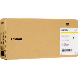 Canon Inkjet Cartridge for iPF 830/840/850 700ml - Yellow (PFI-707Y)