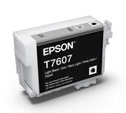 Light Black ink cartridge for Epson SURECOLOR SC-P600, UltraChrome HD Ink, Epson C13T760700