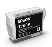 Light Light Black ink cartridge for Epson SURECOLOR SC-P600, UltraChrome HD Ink, Epson C13T760900