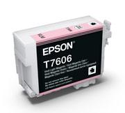 Vivid Light Magenta ink cartridge for Epson SURECOLOR SC-P600, UltraChrome HD Ink, Epson C13T760600