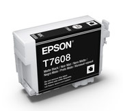 Matt Black ink cartridge for Epson SURECOLOR SC-P600, UltraChrome HD Ink, Epson C13T760800