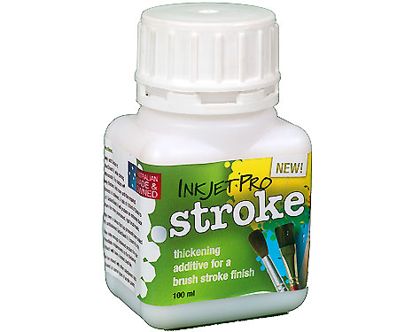 InkjetPro Stroke 100ml, thickening additive for GiceeShield-II for an authentic brush stroke finish